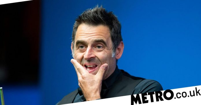 Ronnie O'Sullivan and Mark Williams react to the defeat of the Foggers at the European Masters