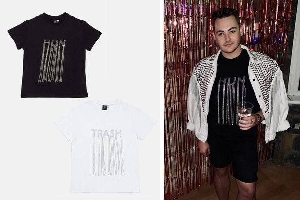 The team made sure they get their hands on these diamond fringe t irts shirts from the collection