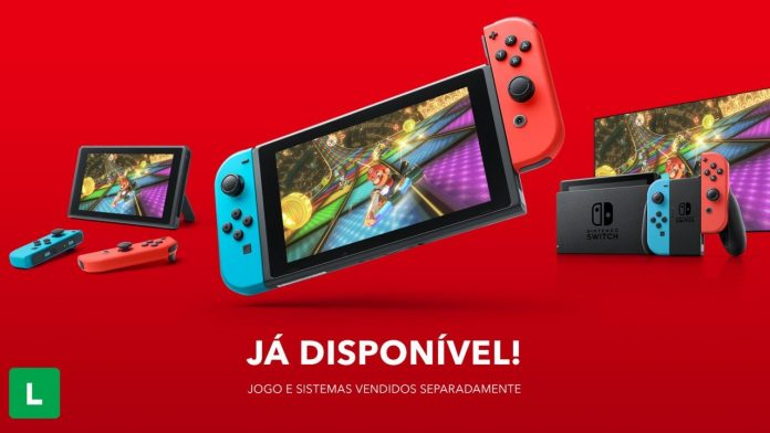 Nintendo Switch has launched more than 100 games available in Brazil with Day One