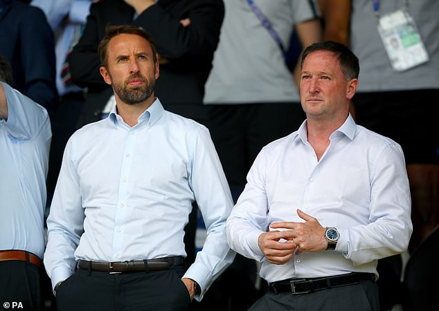 England manager Gareth Southgate to send No. 2 Steve Holland (R) to investigate Maguire