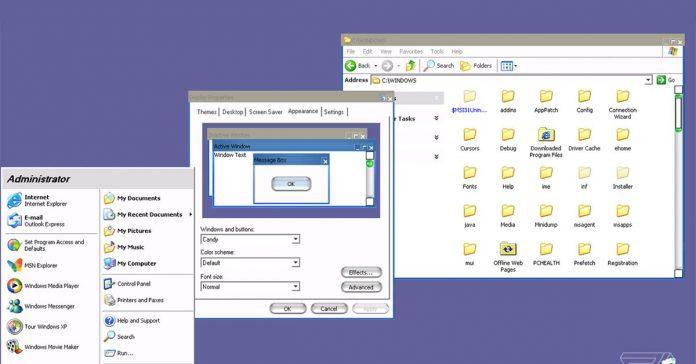 Microsoft .ft had a secret Windows XP theme that made it look like a Mac