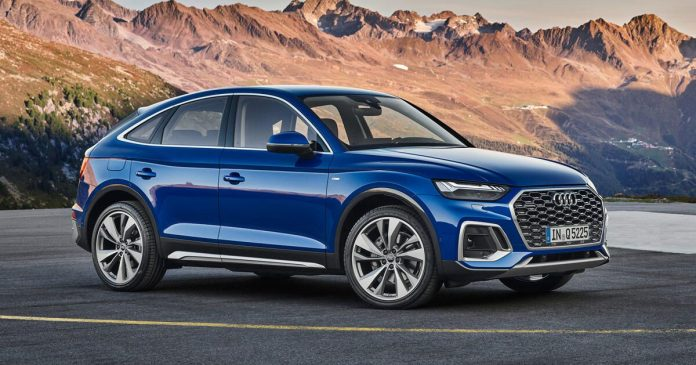 The 2021 udi DQ5 Sportback is yet another coupe-inspired crossover