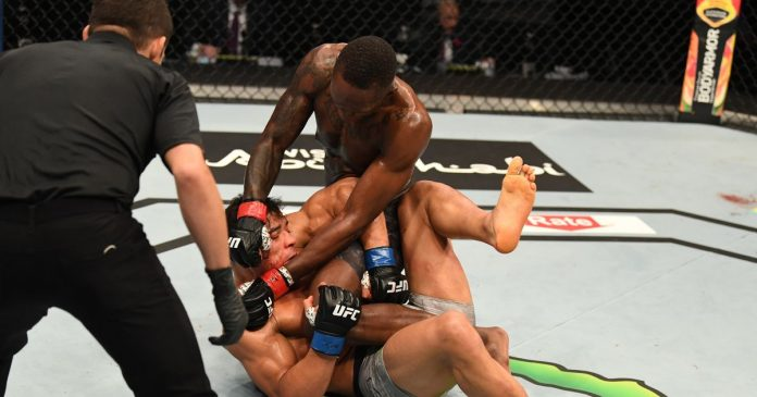 Israel Adesanya delivered a message to his next opponent before defeating Paulo Costa at UFC 253