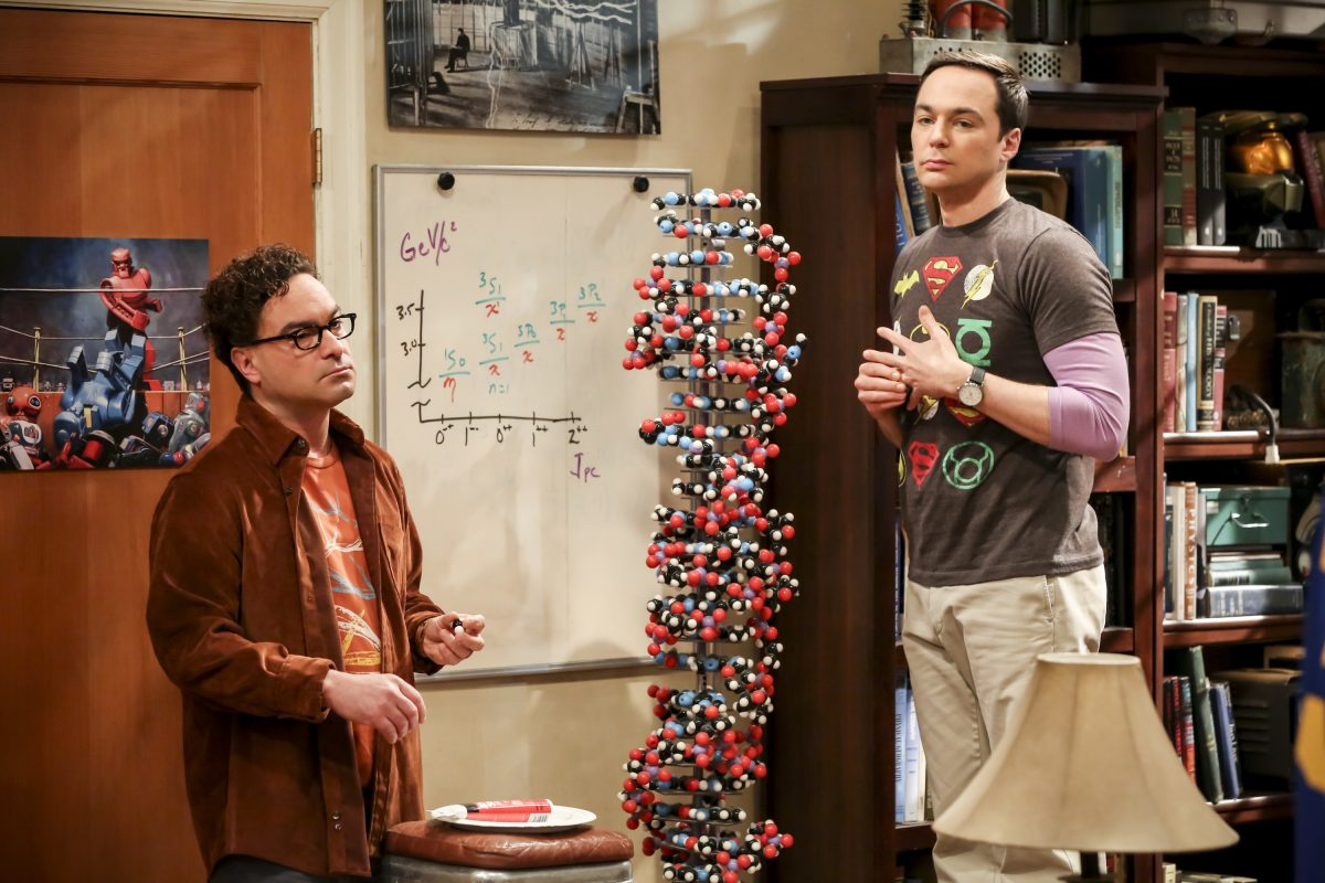 Jim Parsons and Johnny Gallesky