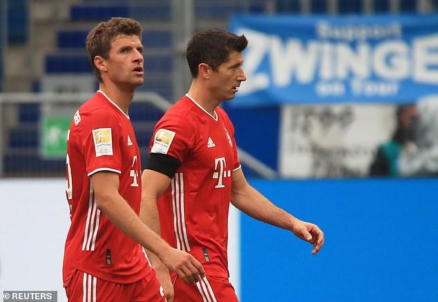 Champions League winners stunned Hoffenheim in the Bundesliga