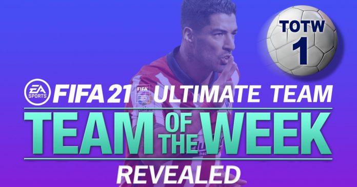 FIFA 21 TOTW 1 lineup confirms Bruno Fernandez and Jamie Verdi