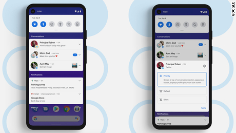 Notifications are very easy to manage in Android 11.