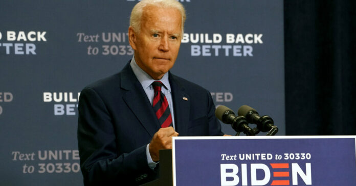 Biden condemns reports that Trump called Fallon soldiers