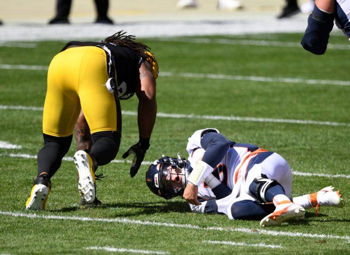 Broncos Pittsburgh - Drew Lock injured 26-21 at Denver Post