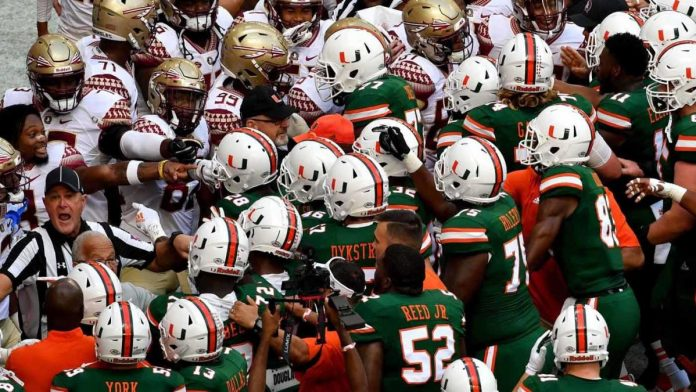 College Ledge Football Score, NCAA Top 25 Ranking, Schedule, Sports Today: Florida State vs Miami, Texas A&M Opens