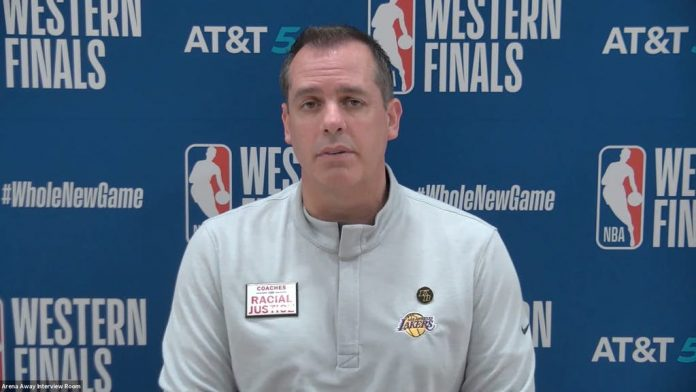 Frank Vogel Jokes Lakers will be at a disadvantage against Denver due to Alt High in Game 3