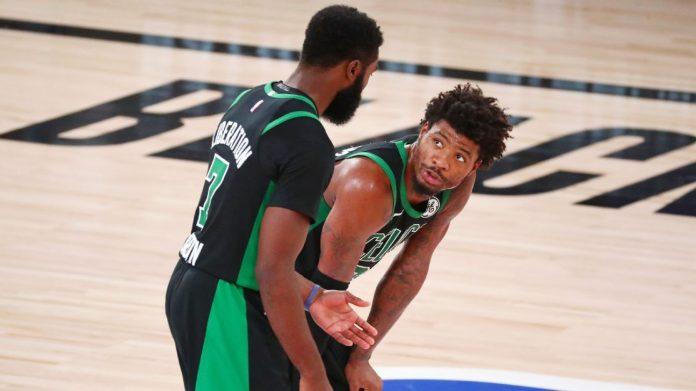 Frustration in the downplay locker room following the loss to the Boston Celtics Miami Heat