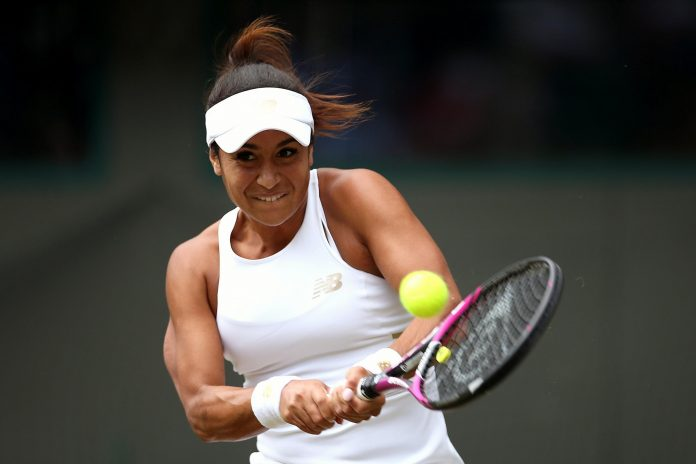 Heather Watson completes first round of French Open forgiving for British optimists