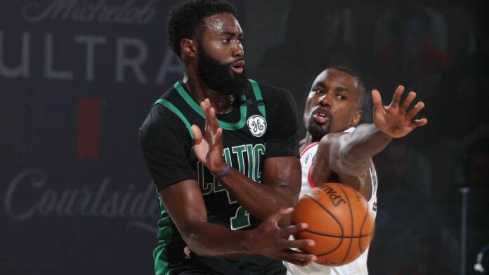 Jalen Brown called the Relters' last-second loss to the Celtics an 'insult'