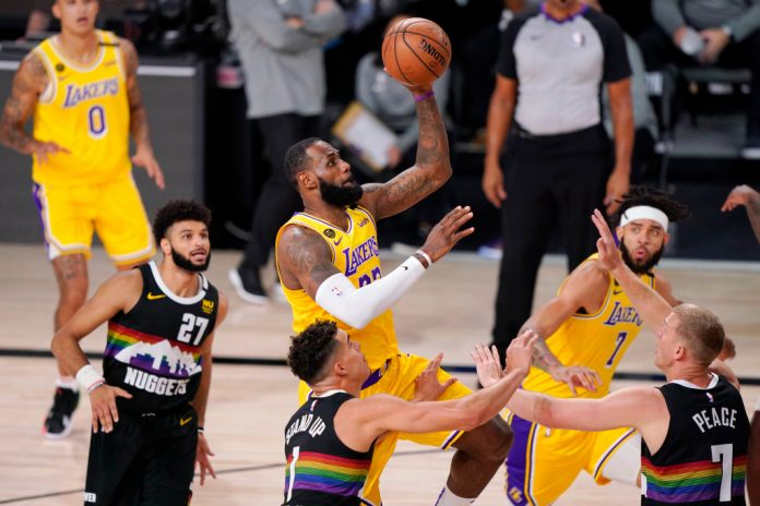 Jamal Murray's style points do not match the Lakers' deep deep - Orange County Register
