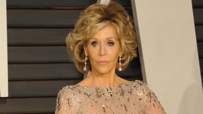 Jane Fonda urges Dimes to block RBG's successor, 'as hard as Mitch McConnell'