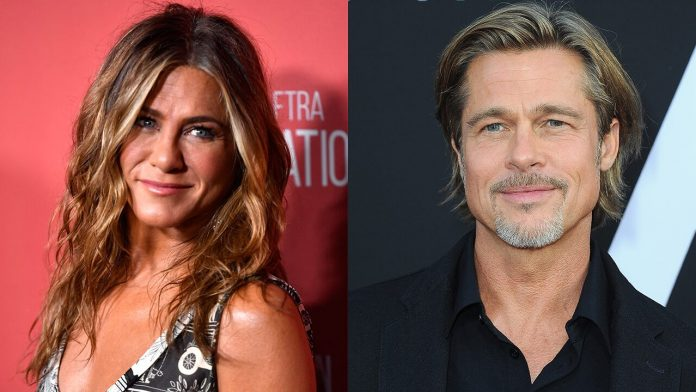 Jennifer Aniston, Brad Pitt was in the character of 'Fast Times at Regmont High' during the flirtation, while the table read