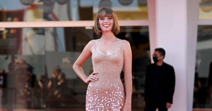 Let's admire Maya Hawk's gorgeous performance at the Venice Film Festival, because wow