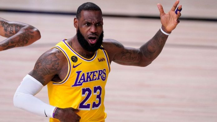 Los Angeles Lakers' LeBron James says MVP's turnout 'missed me'