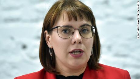 A Belarusian activist has been forcibly removed from the country by security forces