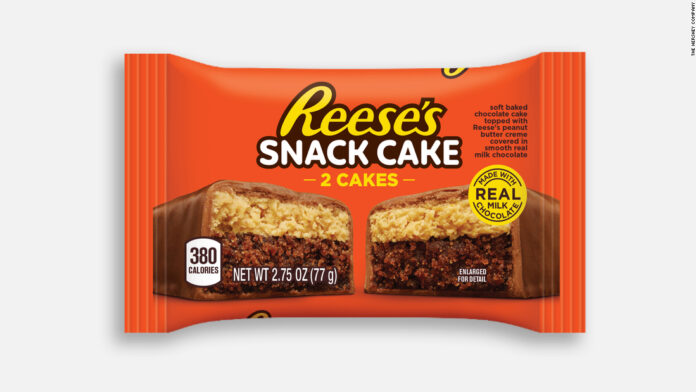 Reese has made a snack cake so you can get dessert in the morning