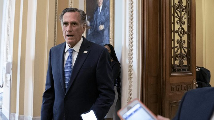 Romney has endorsed voting on a clear path for the Supreme Court nominee, Trump
