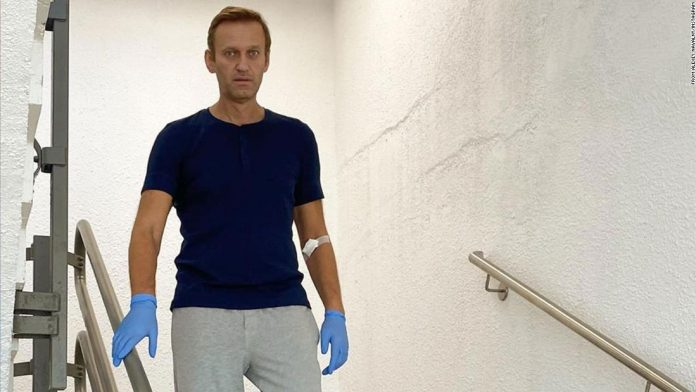 Russian opposition leader Alexei Navalny was released from hospital after being poisoned