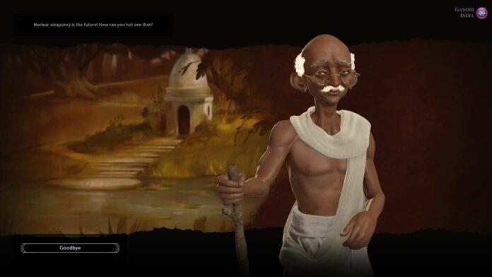 Sid Meier's confirmation of nuclear Gandhi is sadly just a myth
