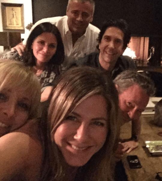 Friends found the cast again