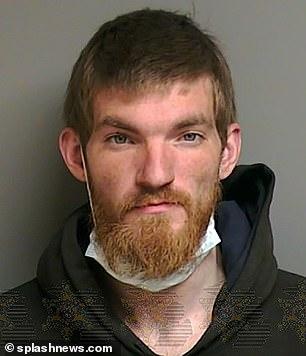 Matthew David Hughes, 27, was arrested in April for entering Eminem's mansion.