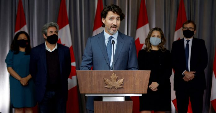 Trudeau has promised a bold plan for Canada in his throne speech