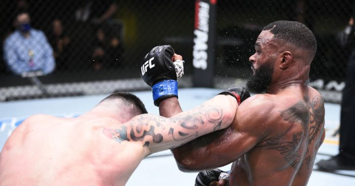 Tyrone Woodley addressed his loss to Colby Cunnington: 'I don't know what happened to F **'