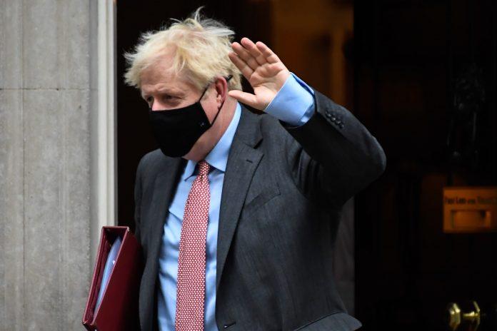 UK Prime Minister Boris John urges Britain to follow rules to avoid lockdown