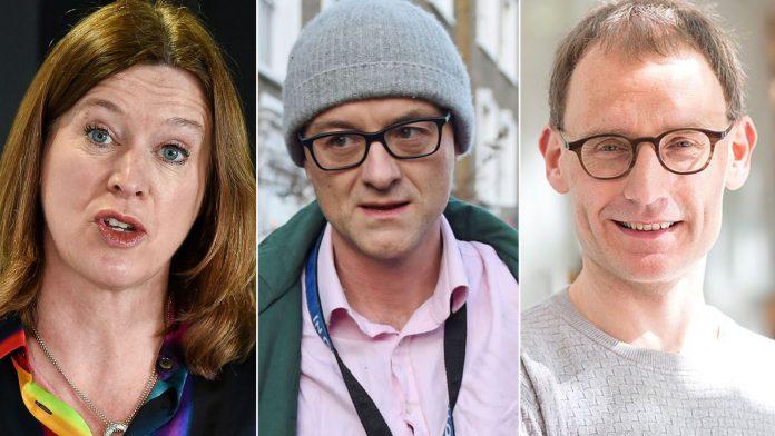 (Ex) Scottish CMO Catherine Calderwood, Number 10 aide Dominic Cummings and (ex) government scientist Neil Ferguson all broke the lockdown