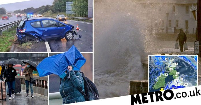 UK Weather: Storm Alex brings heavy rain and wind this weekend