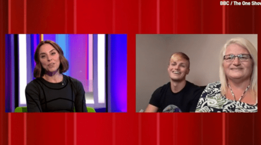 Mail surprised fans during the CA One show