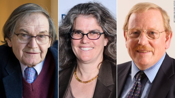 Roger Penrose, Reinhard Ganzel and Andrea Gage awarded the Nobel Prize in Physics for their discovery of black holes