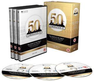 Stars of Coronation Street - 50 years, 50 classic characters [DVD]