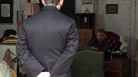 Mike confronts Gary Winds on Coronation Street