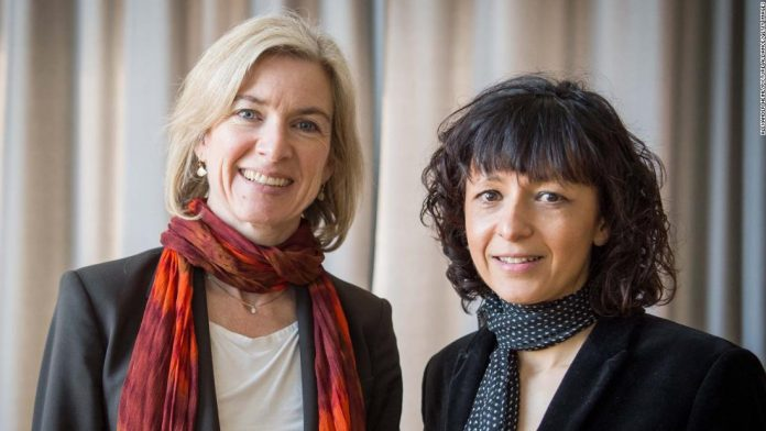Emmanuel Charpitier and Jennifer A. Udana awarded the Nobel Prize in Chemistry for the acquisition of the CRISPR genome