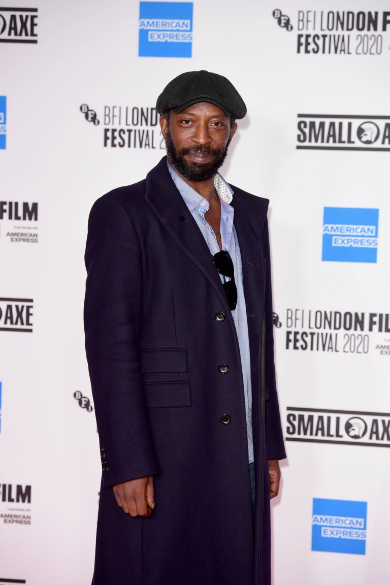 Actor Shawn Parkes attends the European premiere of Mangrove on the opening night of the BFI London Film Festival at BFI Southbank, London.  P.A.  Photo.  Picture Date: Wednesday 7, October, 2020. PA See story Showbiz LFF.  Photo credit should read: Ian West / PA Wire