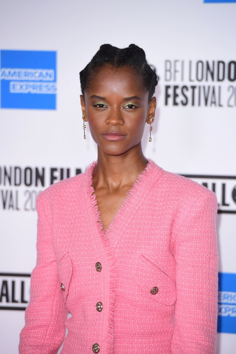 Actress Letia Wright attends the European premiere of Mangrove on the opening night of the BFI London Film Festival at BFI Southbank, London.  P.A.  Photo.  Picture Date: Wednesday 7, October, 2020. PA See story Showbiz LFF.  Photo credit should read: Ian West / PA Wire