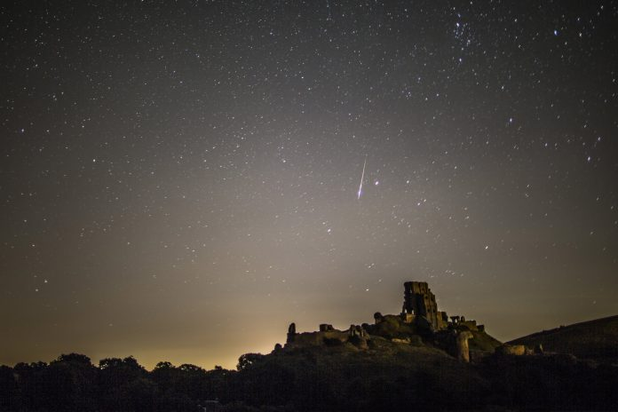 Date and time the peak of Draconids, and what to look for