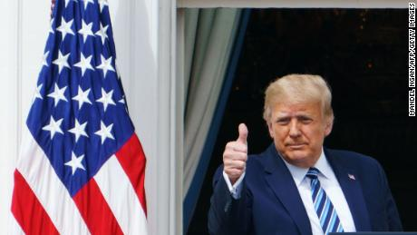 Check the facts: Trump made five false claims in his first speech after meeting Kovid-19