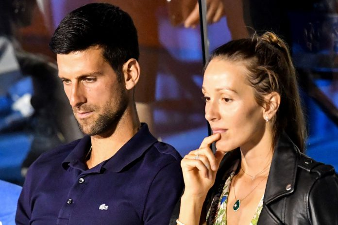 Who is Novak Djokovic's wife Jelena and how many children does the Serbian tennis legend have?  - Sun.