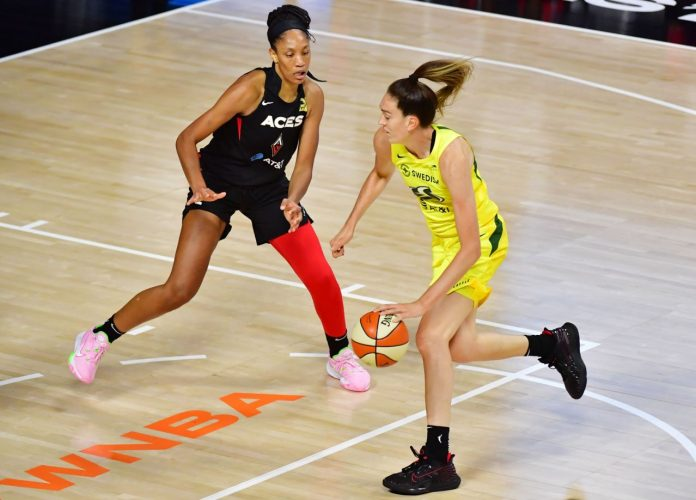 Breana Stewart, Sue Bird set a record-breaking night for Storm in a Game 1 win