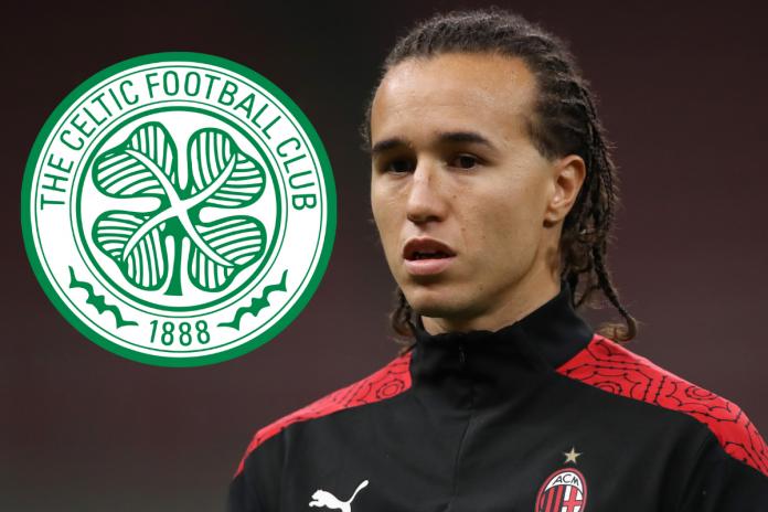 Celtic sign Diego Luxalt joins AC Milan on a season-long loan