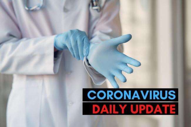 Coronavirus in the box - Monday 12 October