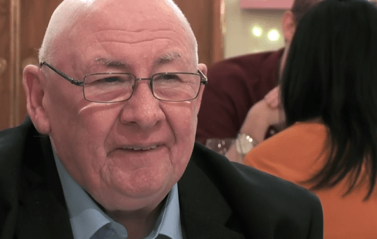 On first dates viewers fall in love with 60-year-old Merrill