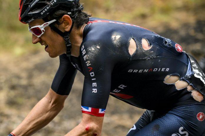 Geraint Thomas retreats from Giro d'Italia as Arnaud Damer wins stage four